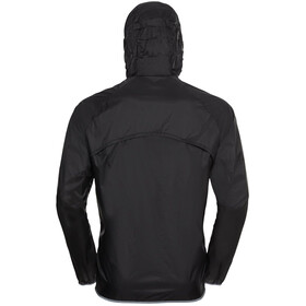 Odlo Zeroweight Dual Dry Water Resist Jacket Men, zwart